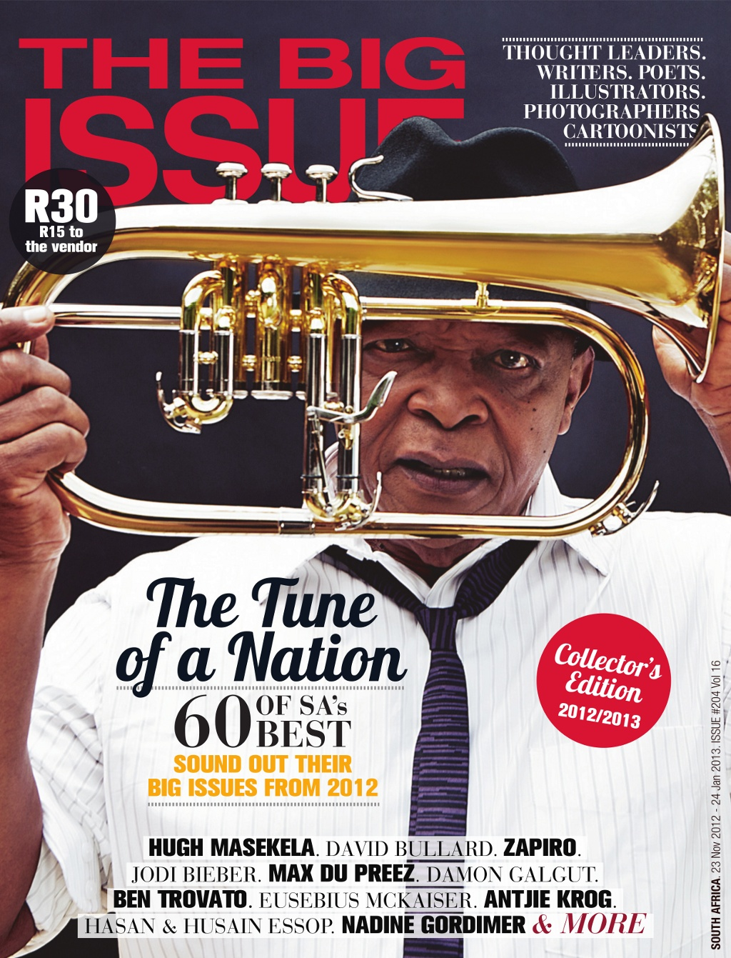 Photograph by Brett Rubin; Cover Art courtesy of The Big Issue