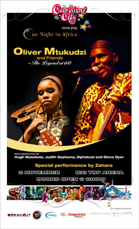 One Night in Africa - Oliver Mtukudzi and Friends